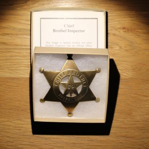 Badge Reproduced Unusual Regulator Lincoln County Old West Style