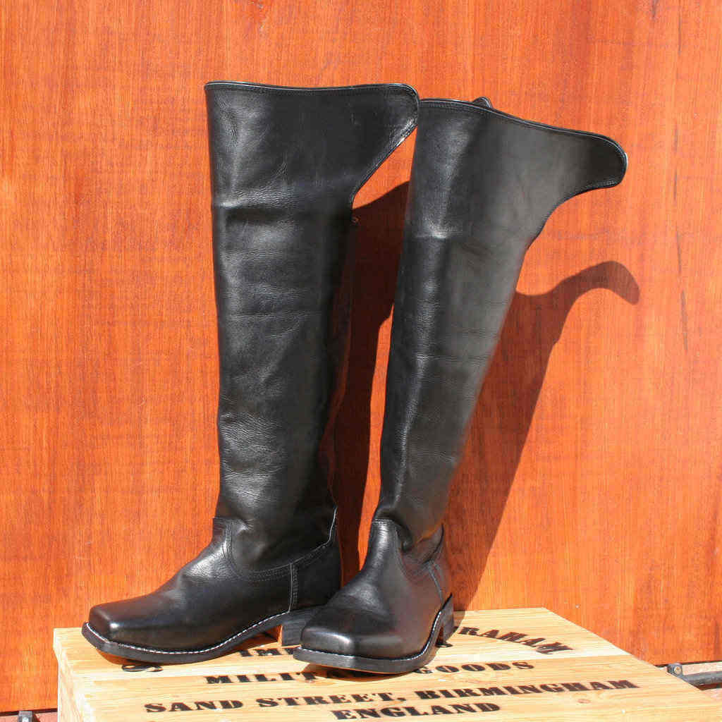 Officer / Dragoon Long Boots