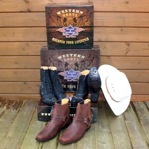 Modern Western Boots - Men & Women's