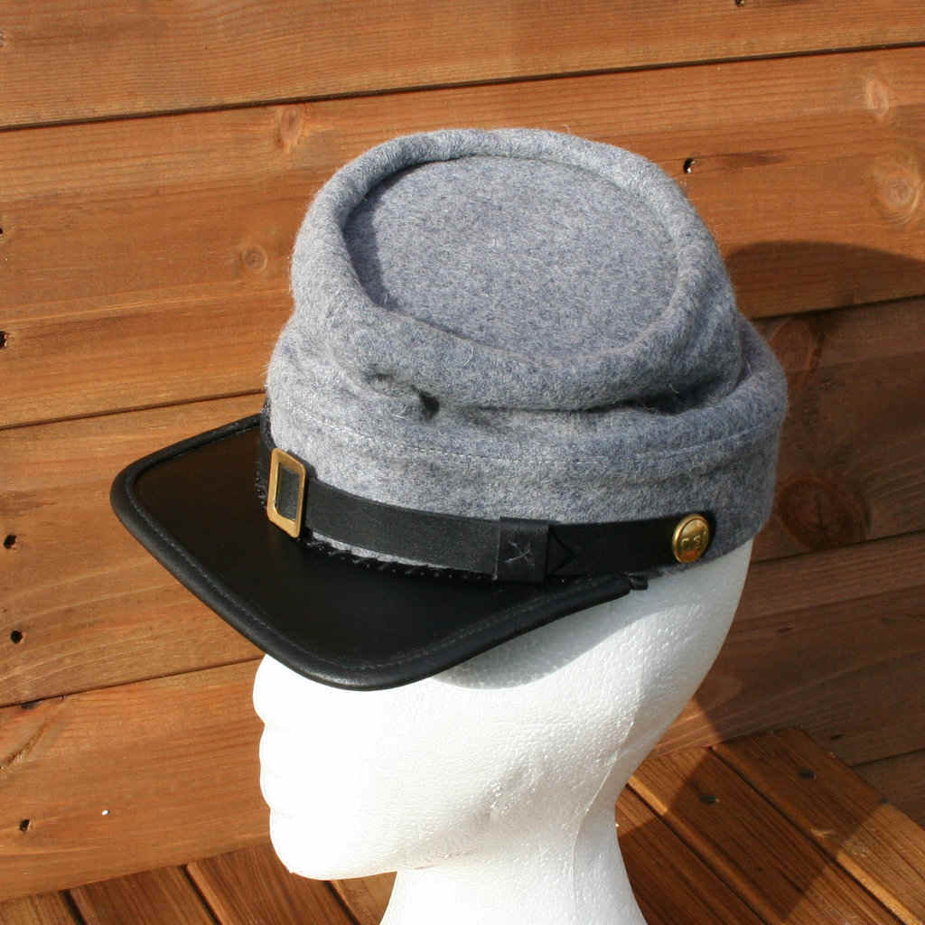 Confederate Army Regulation Kepi (from the Federal Pattern 1858) fd555fe47d7b