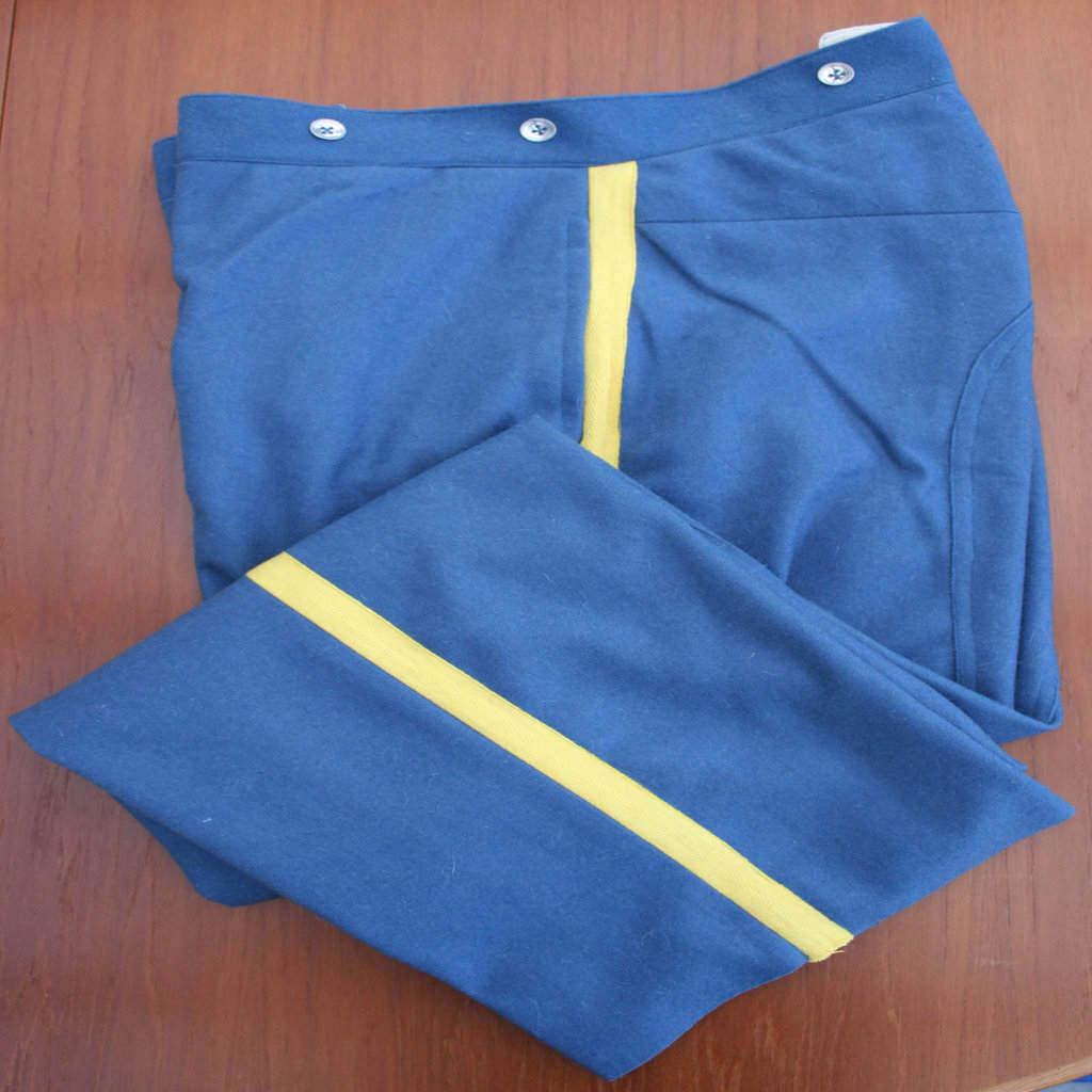 Civil War Union Artillery Wool Pants