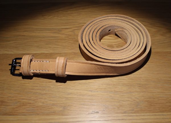 Natural Leather Canteen Strap